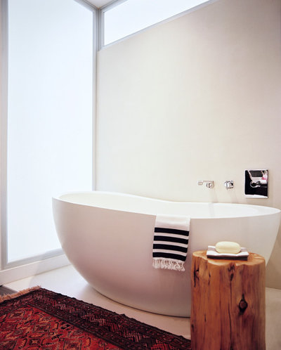Contemporary Bathroom Flatiron Apartment