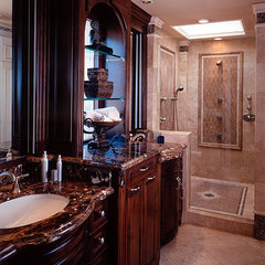 traditional bathroom by James Patrick Walters