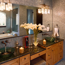 Mediterranean Bathroom by Infinity Design, Inc.