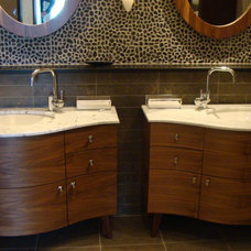 Contemporary Bathroom by J M Applegate Designs LLC