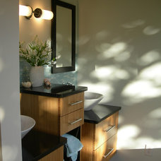 Asian Bathroom by Inspire Kitchen and Bath Design
