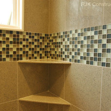Contemporary Bathroom by RJK Construction Inc