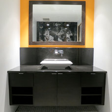 Contemporary Bathroom by Navillus Woodworks