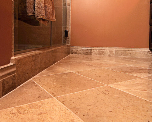 excellent orange bathroom floor | Bathroom Design Ideas, Renovations & Photos with ...