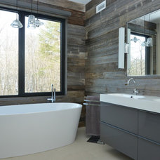 Rustic Bathroom by Urban Design Centre
