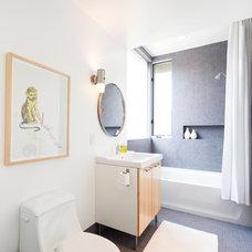 Contemporary Bathroom Florian Hart Residence