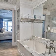 Beach Style Bathroom by Village Architects AIA, Inc.
