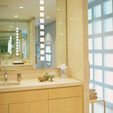 Contemporary Bathroom by Powell/Kleinschmidt, Inc.
