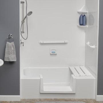 Florida Senior Safe Bathrooms by Hometown Contractors, Inc. 850.995.9947