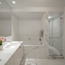 Modern Bathroom by Aman Architecture LLC