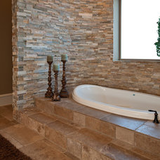 Contemporary Bathroom by Drew Walling Custom Homes