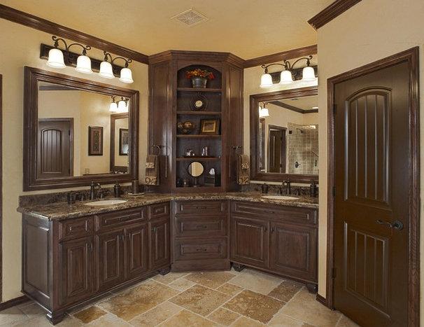 Mediterranean Bathroom by USI Design & Remodeling
