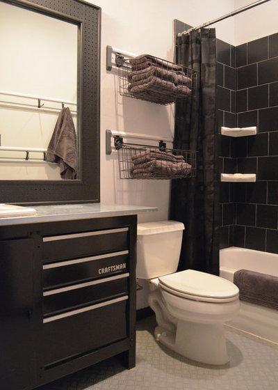 Современный Ванная комната by Sarah Greenman