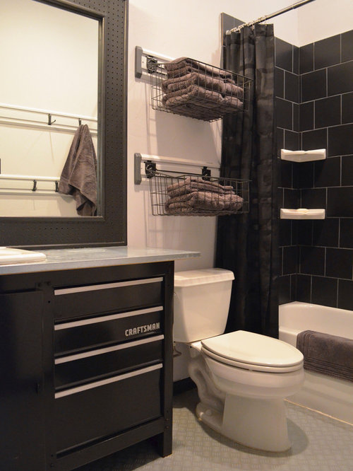 Manly Bathroom Towels: Men's Bathroom Ideas, Pictures, Remodel And Decor