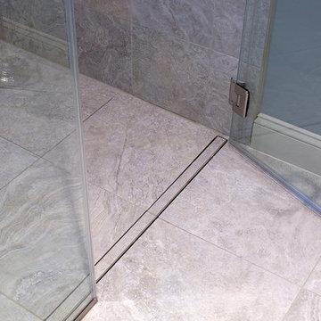 Flush, Linear Shower Drain