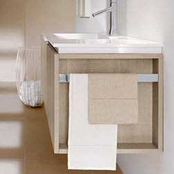 Fly Collection by Milldue - Vanity composition in Tranche Sabbia finish.