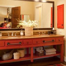 Traditional Bathroom by Ashley Campbell Interior Design