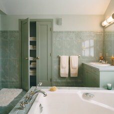 Traditional Bathroom by Tusick & Associates Architects