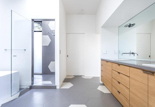 Moderne Badeværelse by cpopp workshop