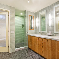 Contemporary Bathroom by Phoenix Woodworks