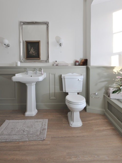 Bathroom paneling design ideas remodel pictures houzz for Do metro trains have bathrooms