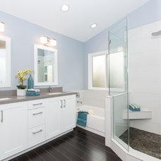 Contemporary Bathroom by Vision Interiors
