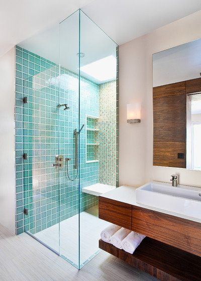 Contemporain Salle de Bain by AB design studio inc.