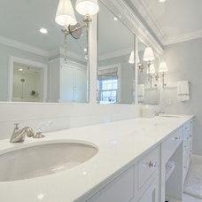 Traditional Bathroom by Rye Marble Inc