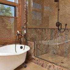 Modern Bathroom by Home Tile Design