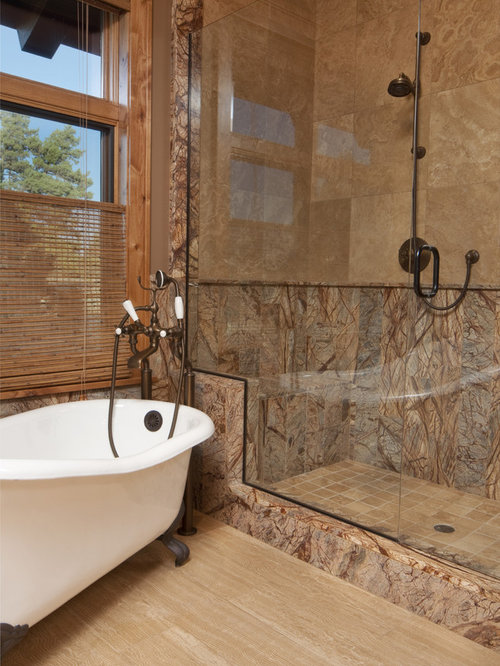 Brown marble home design ideas pictures remodel and decor for Brown marble bathroom accessories