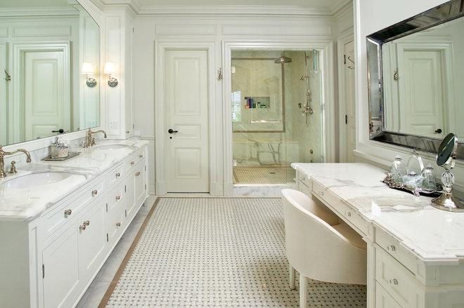 Traditional Bathroom by Arnal Photography