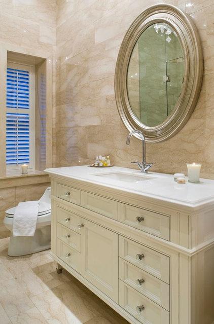 Traditional Bathroom by Taylor Hannah Architect Inc