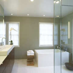 contemporary bathroom by Robert Kaner Interior Design