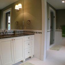 Traditional Bathroom by GGC Construction