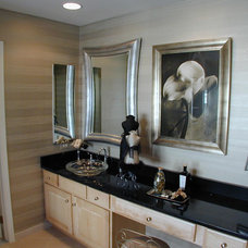 Contemporary Bathroom by Laura Manning Bendik