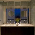 Courtyard Residence Bath Contemporary Bathroom