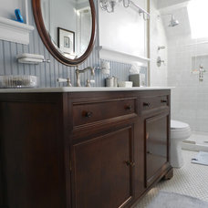 Traditional Bathroom by Cheryl D & Company