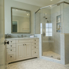 Traditional Bathroom by Canyon Construction