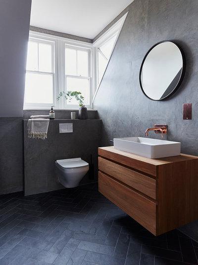 Modern Bathroom by Cherie Lee Interiors