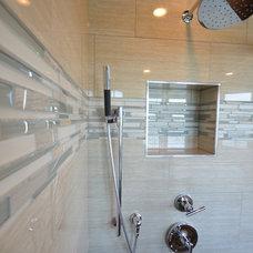 Contemporary Bathroom by Bella Vista Development Corp.