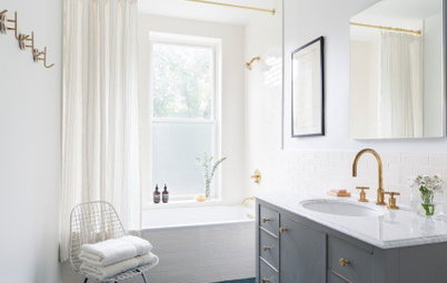 Bathroom of the Week: Bringing Back a Brownstone Vibe
