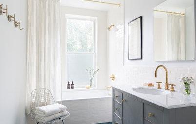 Bathroom of the Week: Bringing Back a Brownstone Vibe