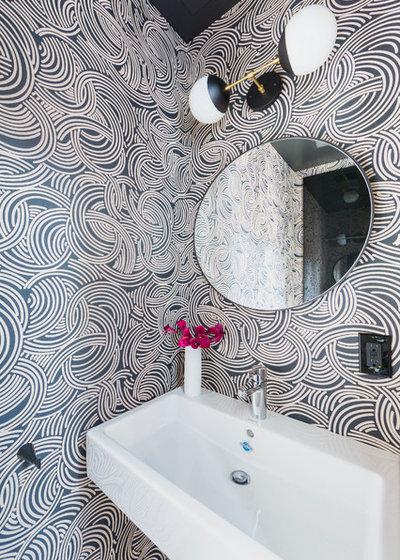 Contemporary Bathroom by Kate Glicksberg Photography