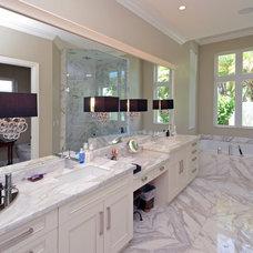 Transitional Bathroom by Waterbrook Builders