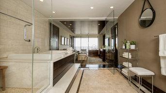 Fort Lee Penthouse - Master Bathroom