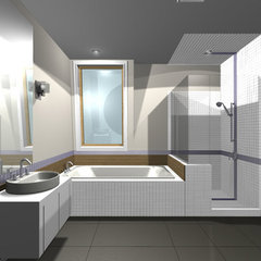 modern bathroom by ONY architecture LLC.