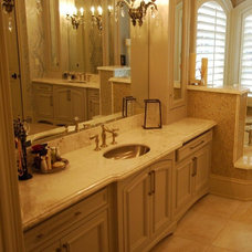 Traditional Bathroom by D&D Floor Covering Inc