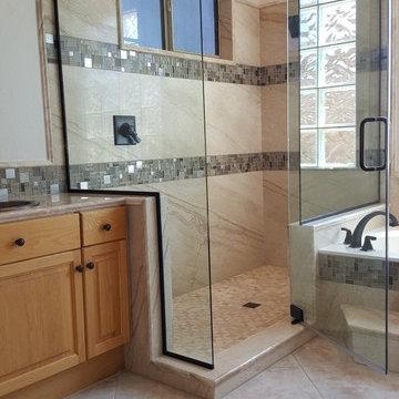 ForzaStone French Mocha Shower