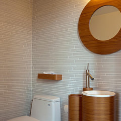 contemporary bathroom Fougeron Architecture