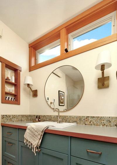 Craftsman Bathroom by Bellingham Bay Builders
